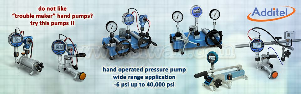 Additel Pressure Test Pump